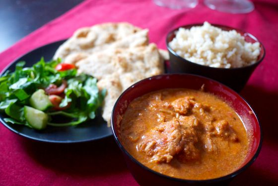 Indian curry at home: slow cooker chicken tikka masala